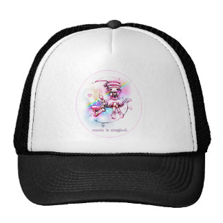 music is magical. trucker hat