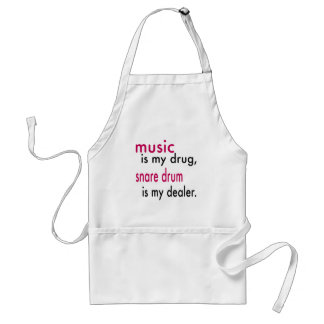 Music Is My Drug, Snare drum Is My Dealer Aprons