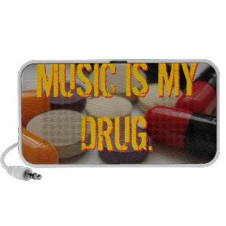 MUSIC IS MY DRUG. - speaker