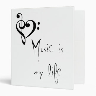 Music is my Life binder