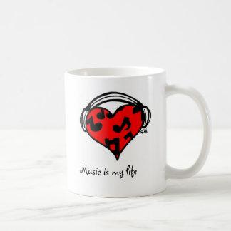Music is my life-Coffee Mug