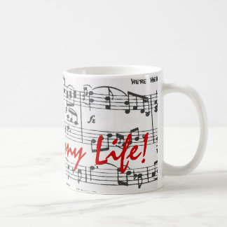 Music is My Life Coffee Mug