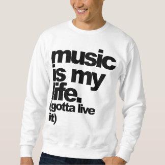 """music is my life. (gotta live it)"" Tee"
