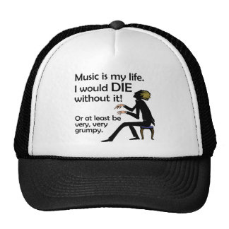Music is My Life Trucker Hat