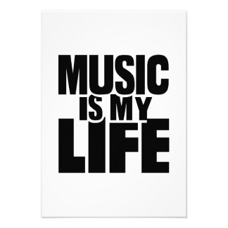 Music is my life invites