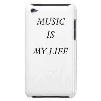 Music Is My Life Ipod case-mate Barely There iPod Cases