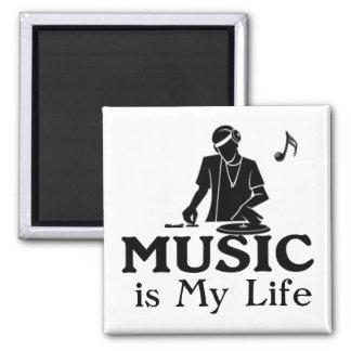 Music is My Life Fridge Magnets