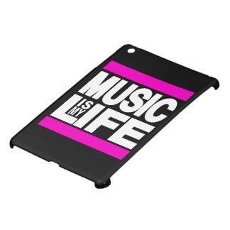 Music is My Life Pink iPad Mini Case