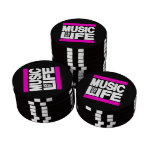 Music is My Life Pink Poker Chips Set