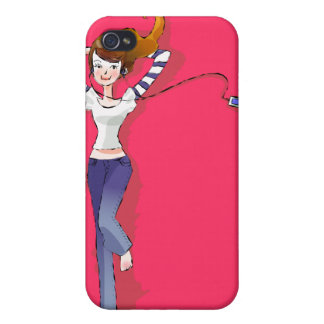Music is My Life - Pink Teen  iPhone 4 Cover