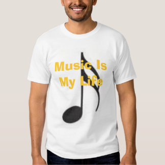 Music Is My Life Shirt