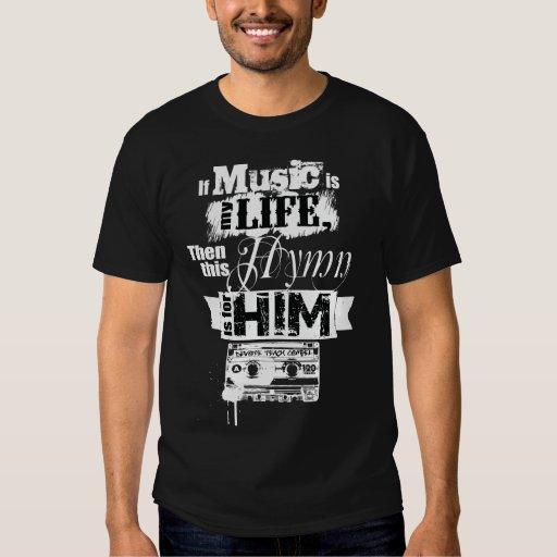 Music Is My Life Tee Shirt