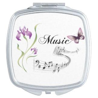 Music is my life vanity mirror