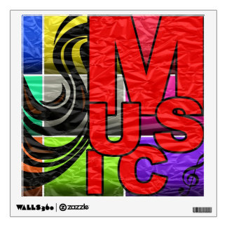 Music Is My Life Room Decal