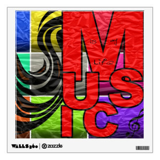 Music Is My Life Wall Graphics