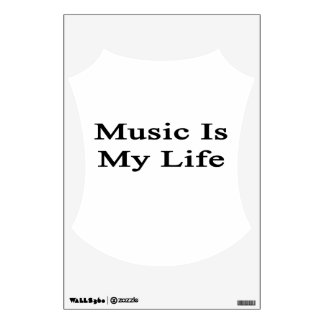 Music Is My Life Room Graphics