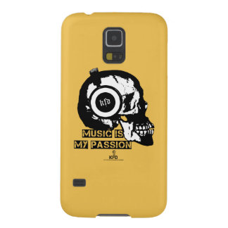 music is my passion galaxy s5 cover