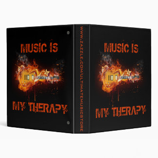 MUSIC IS MY THERAPY BINDER