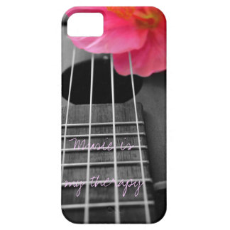 Music is my therapy iPhone 5 case