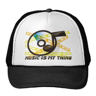 MUSIC_IS_MY_THING GORRO DE CAMIONERO