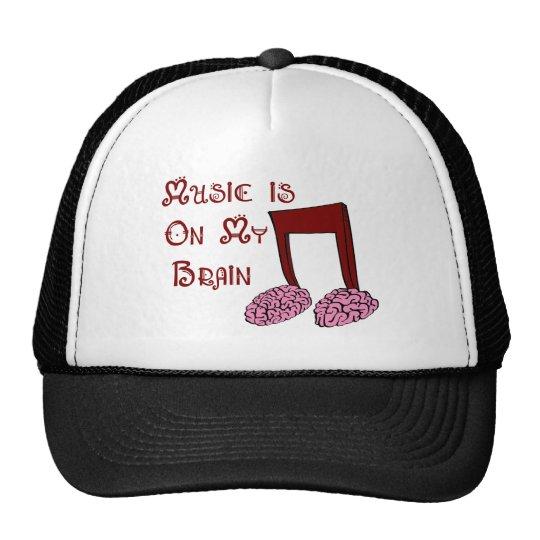 Music is on my Brain Trucker Hat