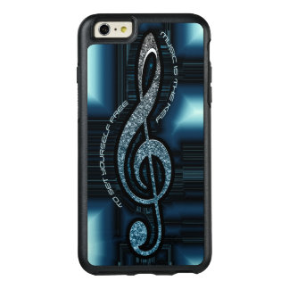 Music is the Key OtterBox iPhone OtterBox iPhone 6/6s Plus Case