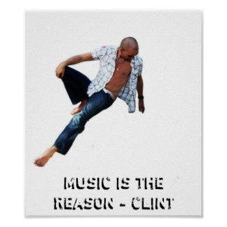 Music Is The Reason Poster