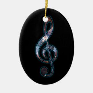 Music is Universal Ceramic Ornament