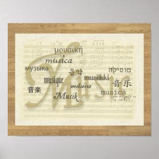 Music Is Universal Language Print