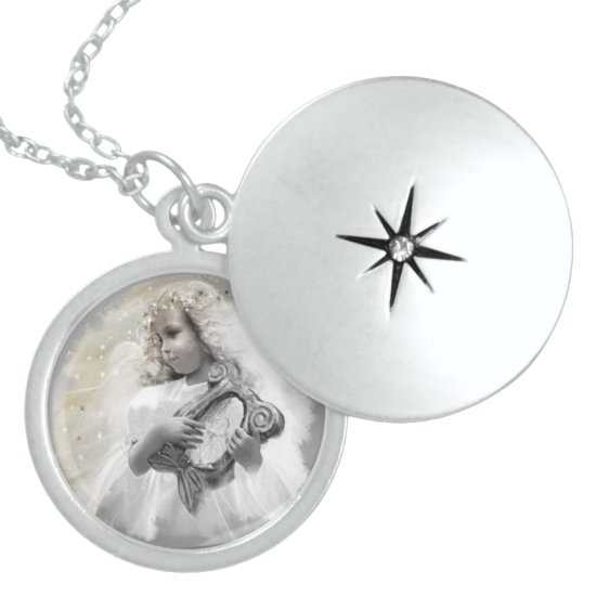 Music is well said to be the speech of angels. locket necklace
