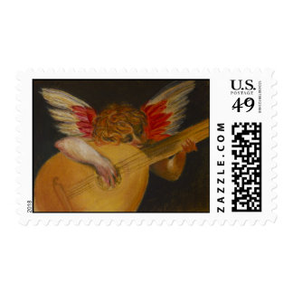 Music is well said to be the speech of angels. stamp