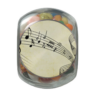 Music Jelly Belly Candy Jars