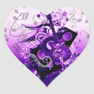 Music Journey_ Heart Sticker