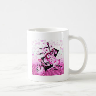 Music Journey,Pink_ Coffee Mug