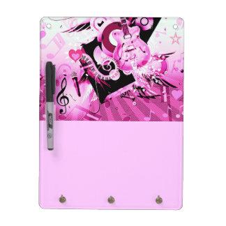 Music Journey,Pink_ Dry Erase Board