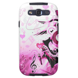 Music Journey,Pink_ Galaxy S3 Covers