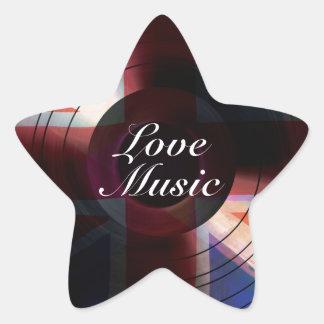 Music.jpg Star Sticker