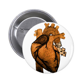 Music keeps me alive pinback button