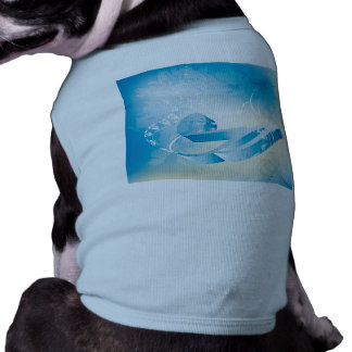 Music key note dog t shirt
