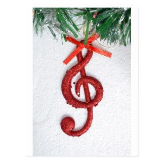 Music Key Postcard