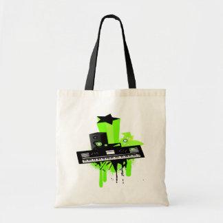 Music Keyboard Tote Bag