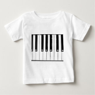 Music keyboard tee shirts