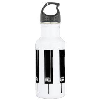 Music keyboard water bottle