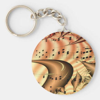 Music Keys Notes World Destiny Art Digital Key Chains
