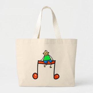 Music Kid Canvas Bag
