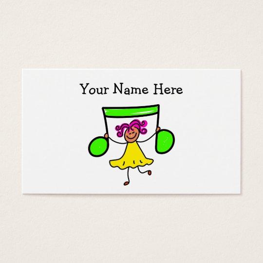 Music Kid Business Card