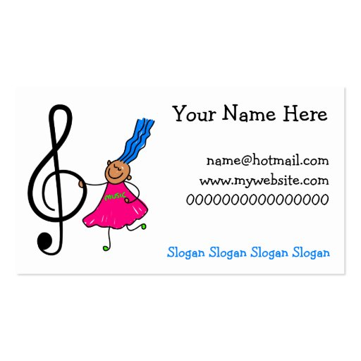 Kids Children Business Card Templates Page BizCardStudio - Kid business card template