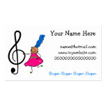 Music Kid Business Card Template