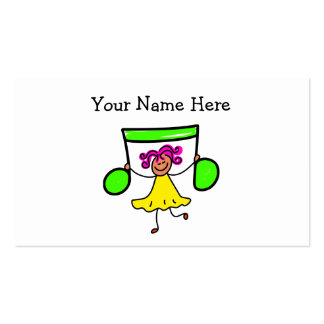 Music Kid Double-Sided Standard Business Cards (Pack Of 100)