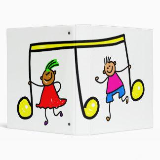 Music Kids 3 Ring Binder